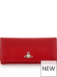 vivienne-westwood-matilda-long-card-holder-walletnbsp--red