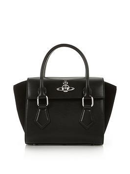 vivienne-westwood-matilda-small-handbag-black