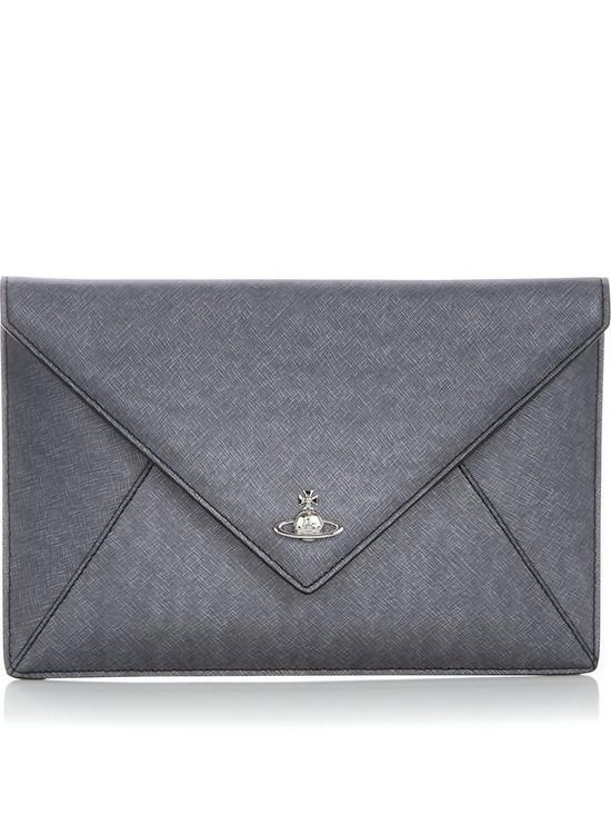 8b5924fcbe8 VIVIENNE WESTWOOD Victoria Envelope Clutch   very.co.uk