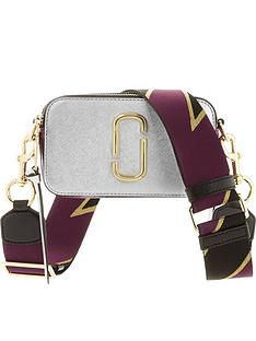 marc-jacobs-snapshot-cross-body-bagnbsp--silver