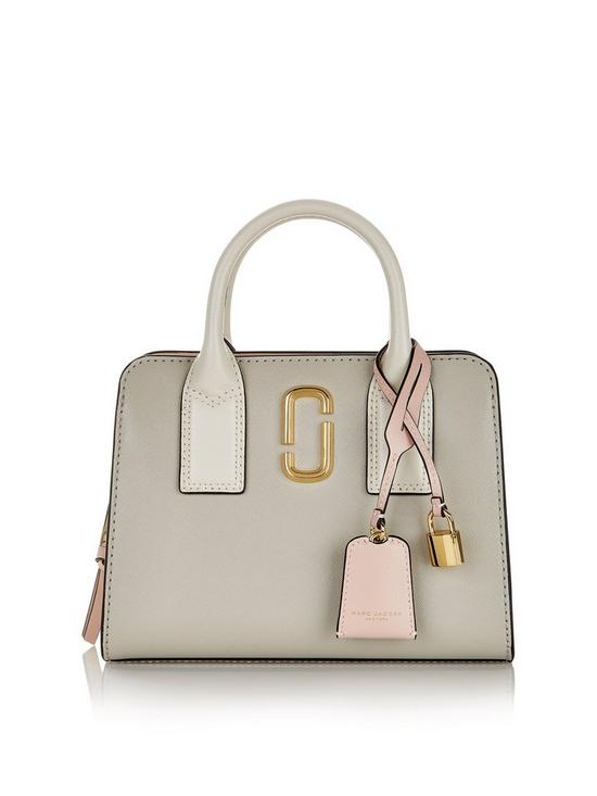 eecbb0604eb3 MARC JACOBS Little Big Shot Tote Bag - Grey