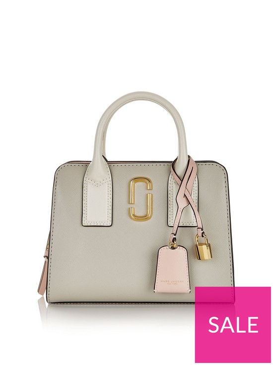 008ba0bf3fd MARC JACOBS Little Big Shot Tote Bag - Grey | very.co.uk