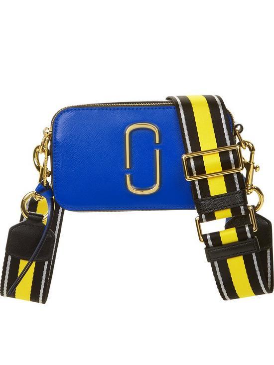 076159aff9d MARC JACOBS Snapshot Crossbody Bag - Blue   very.co.uk