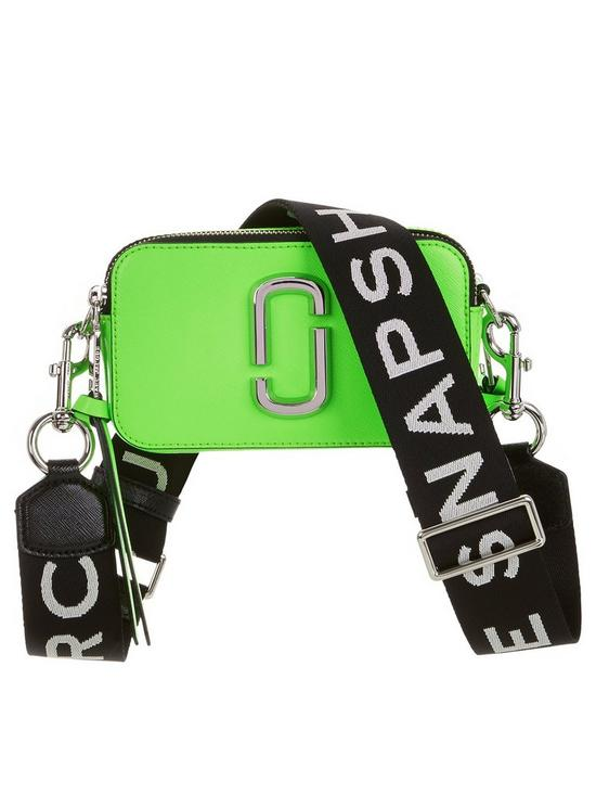 80274abfde MARC JACOBS Snapshot Fluorescent Cross-Body Bag - Green