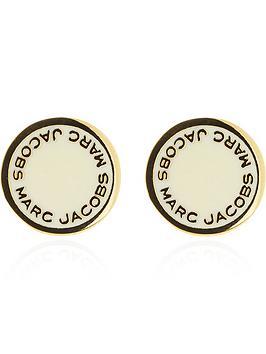marc-jacobs-enamel-detail-logo-disc-stud-earringsnbsp--cream