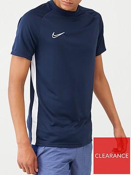 nike-academy-dry-t-shirt-navy