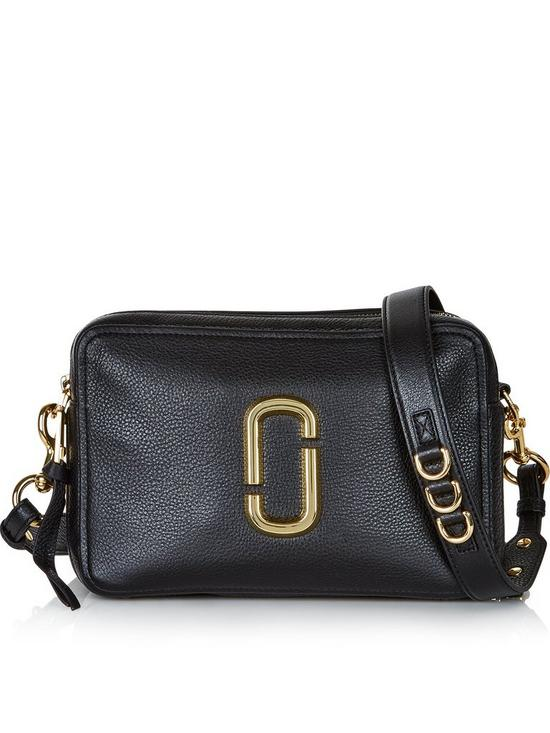 94dfad22e8e MARC JACOBS The Softshot 27 Cross-Body Bag - Black | very.co.uk