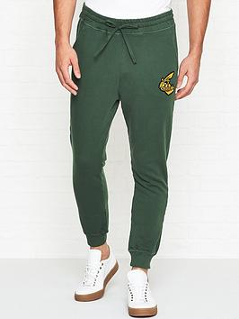 vivienne-westwood-anglomania-orb-logo-joggers-green