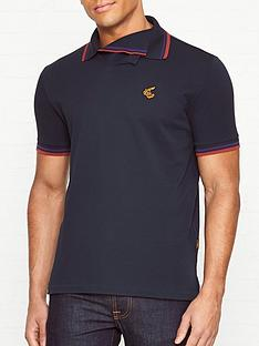 vivienne-westwood-anglomania-squiggle-orb-logo-polo-shirt--nbspnavy