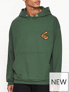 vivienne-westwood-anglomania-orb-logo-overhead-hoodie-green