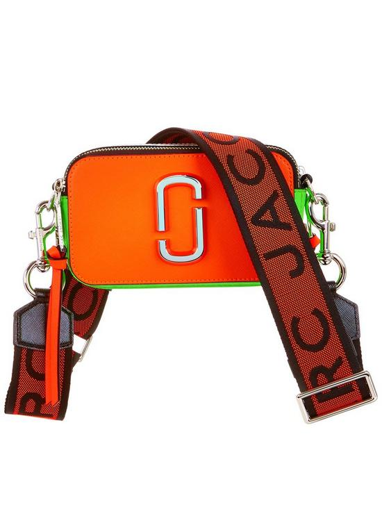 ccf4f22a885f MARC JACOBS Snapshot Fluorescent Cross-Body Bag - Orange