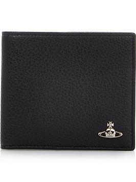 vivienne-westwood-mens-milano-leather-billfold-wallet-black