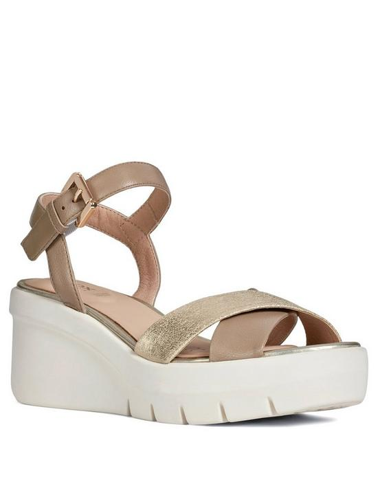 6ba92d003c Geox D Torrence Wedge Sandal | very.co.uk