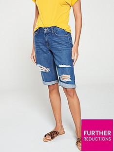 v-by-very-taylor-denim-shorts-dark-wash