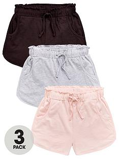 v-by-very-girls-3-pack-frill-trim-jersey-shorts-multi