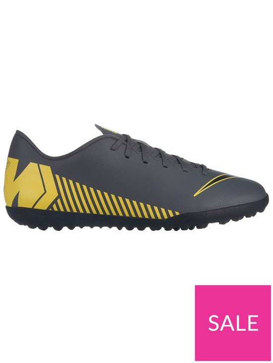 7d57f04fac6d Nike Mercurial Vapor XII Club Astro Turf Football Boots - Grey/Yellow