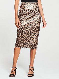 v-by-very-coated-pencil-skirtnbsp--animal-print