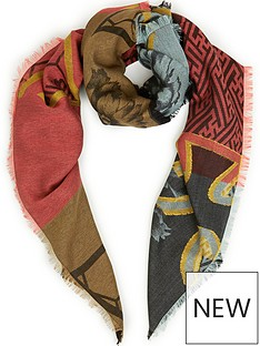 vivienne-westwood-regalia-floral-and-orb-scarf-red