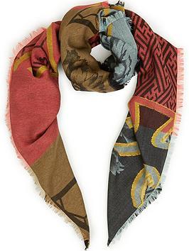 vivienne-westwood-regalia-floral-and-orb-scarf-red