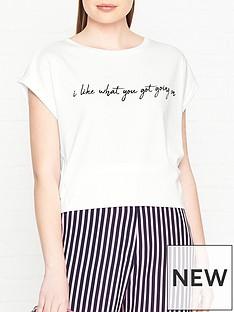 hugo-dennali-script-slogan-t-shirt-white