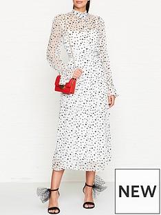 bec-bridge-cecilenbspfloral-print-midi-dress-whiteblack