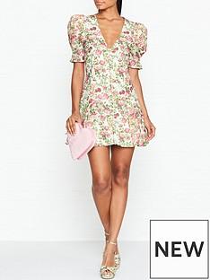 bec-bridge-le-follies-floral-print-mini-dressnbsp--pink