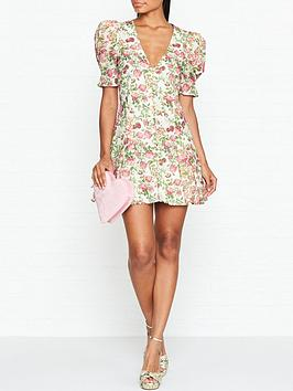 bec-bridge-le-follies-floral-print-mini-dressnbsp--pink