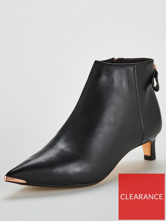 c7c74d55a6a68 Ted Baker Amaedi Leather Ankle Boot