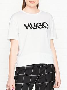 hugo-denalisa-broken-logo-t-shirt-white