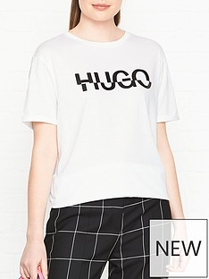 hugo-denalisa-broken-logo-t-shirt-white