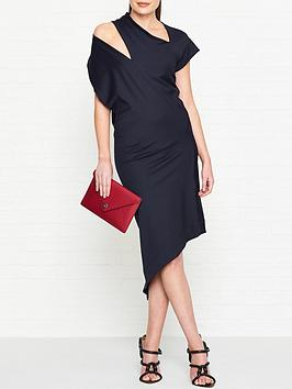 vivienne-westwood-anglomania-timans-cut-out-detail-jersey-dress-navy