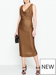 vivienne-westwood-anglomania-virginia-glitter-jersey-dress-copper