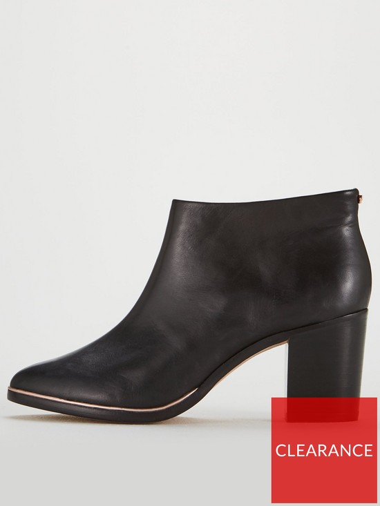 7561b43e5e57 ... Ted Baker Hiharu 2 Leather Ankle Boot. View larger