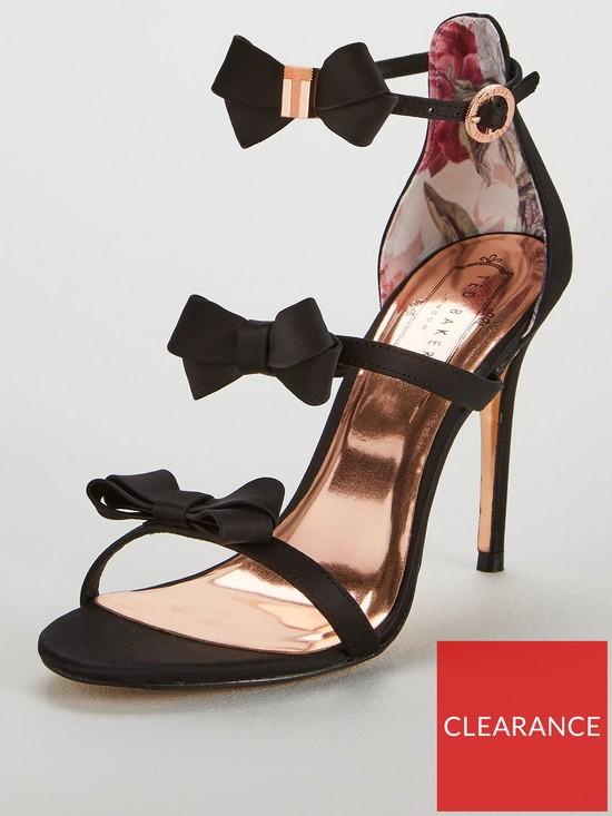 9a9f889ef5f Ted Baker Nuscala Bow Heeled Sandal