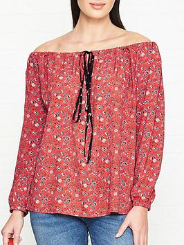 vivienne-westwood-anglomania-liberty-print-gypsy-blouse-red