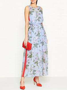 hugo-kalanis-printed-side-stripe-maxi-dress-multi