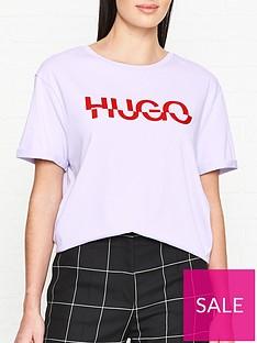 hugo-denalisa-broken-logo-t-shirt--nbsplilac