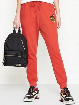 vivienne-westwood-anglomania-orb-detail-sweatpants-red