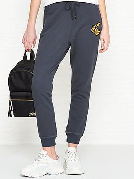 vivienne-westwood-anglomania-orb-detail-sweatpants-grey