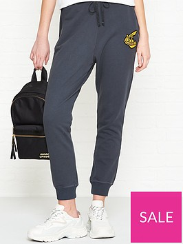 vivienne-westwood-anglomania-orb-detail-sweatpants-grey