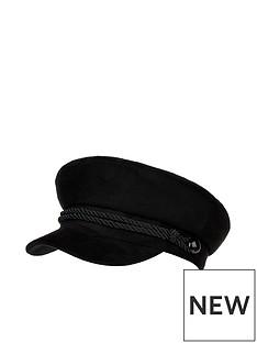 accessorize-suedette-twisted-cord-cap-black