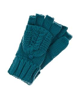 accessorize-delicate-cable-capped-gloves-teal
