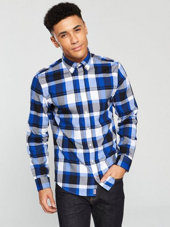 40c94f11c Tommy Hilfiger Lumber Jack Check Shirt | very.co.uk