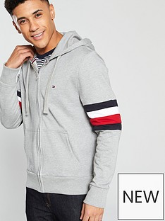 tommy-hilfiger-tommy-hilfiger-relaxed-pieced-hooded-zip-through-hoodie