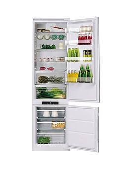 Hotpoint Day1 Bcb8020Aafc.1 193.5Cm High, 55Cm Wide, Integrated Frost-Free Fridge Freezer - White