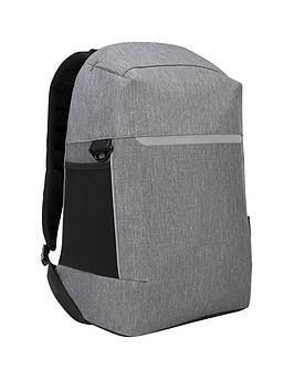 Targus Citylite Security Backpack Best For Work, Commute Or University, Fits Up To 15.6 Inch Laptop - Grey