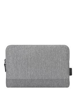 Targus Citylite Laptop Sleeve Specifically Designed To Fit 15 Inch Macbook - Grey