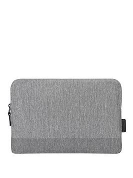 Targus Citylite Laptop Sleeve Specifically Designed To Fit 15.6 Inch Laptop - Grey