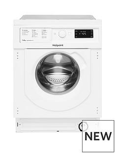 Hotpoint BIWDHG7148 7kg Wash, 5kg Dry 1400 Spin Washer Dryer - White