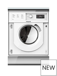 Hotpoint BIWMHG71284 7kg Load, 1200 Spin Washing Machine - White